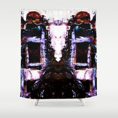 The Seated Woman Shower Curtain