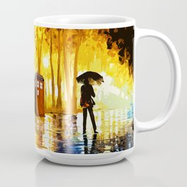 Somebody Looking The Tardis Coffee Mug