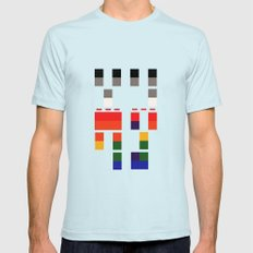I Will Try To Fix You Light Blue Mens Fitted Tee SMALL