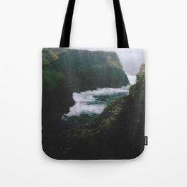 Analogue Cliffs Tote Bag