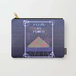 PizzaIsPower Carry-All Pouch
