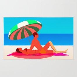 Beach Paradise Rug
