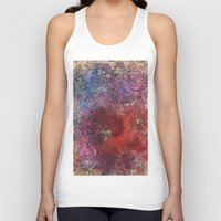 barcelona Tank Tops featuring Barcelona by Andrea Gingerich