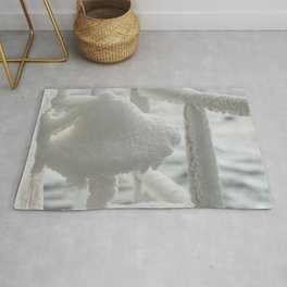 Bell of ice. Rug
