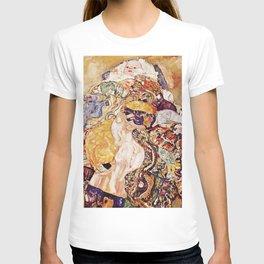 Gustav Klimt Baby Cradle 1917 T-shirt
