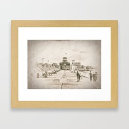 Zuiderterras Framed Art Print