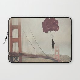 Floating over the Golden Gate Laptop Sleeve
