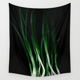 Green onion Wall Tapestry