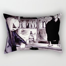 One For The Road Rectangular Pillow