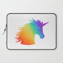 Rainbow Unicorn Silhouette Laptop Sleeve