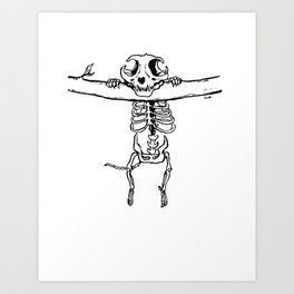 Hang In There! Art Print