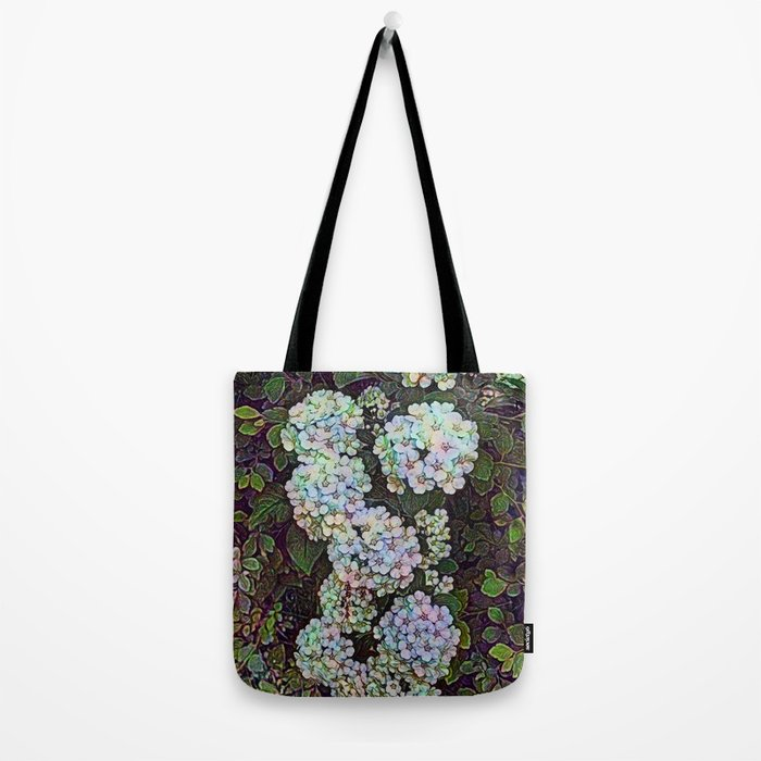 Victorian Wildflower Hedge Tote Bag