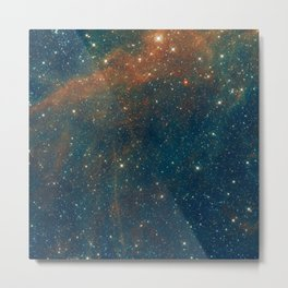 Galaxy Wing Metal Print