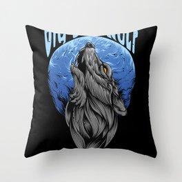 Big Bad Wolf Big Bad Wolf Throw Pillow
