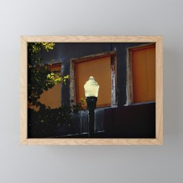Solar Lighting Framed Mini Art Print