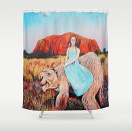 East of the Sun West of the Moon Shower Curtain