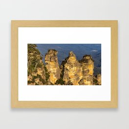 Three Sisters, Blue Mountains, Sydney Framed Art Print