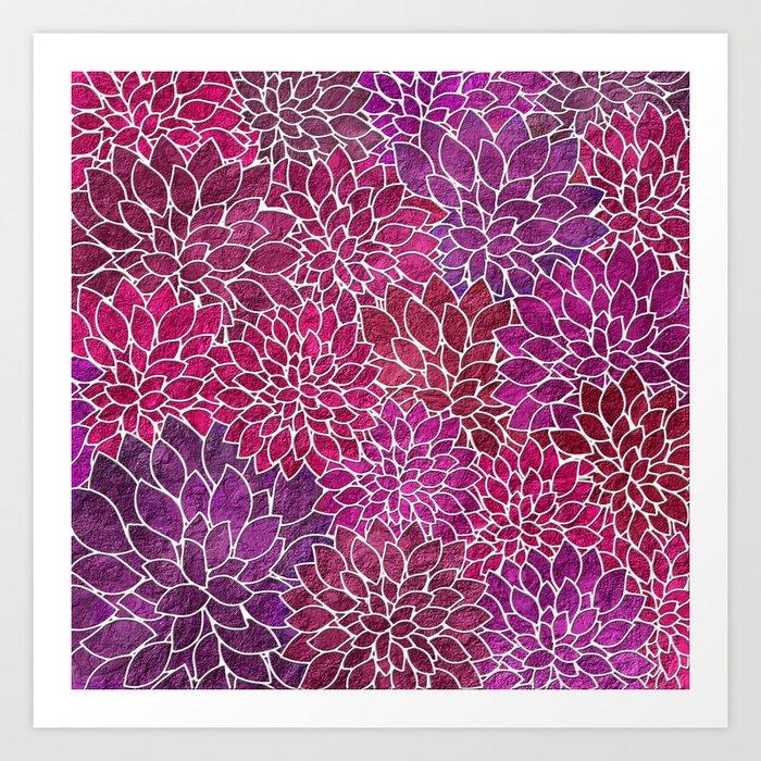 Floral Abstract 18 Kunstdrucke