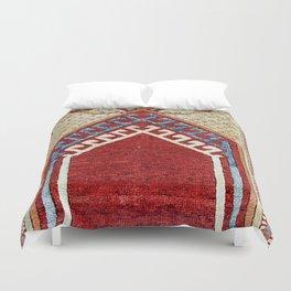 Avunya Antique Turkish Tribal Niche Carpet Duvet Cover