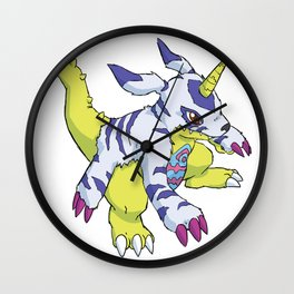 Gabumon Wall Clock