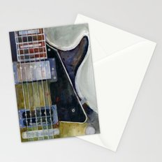 Les Paul Gibson Guitar Stationery Cards