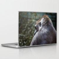 gorilla Laptop & iPad Skins featuring Gorilla by Veronika