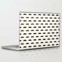 moustache Laptop & iPad Skins featuring *Moustache* by Mr and Mrs Quirynen