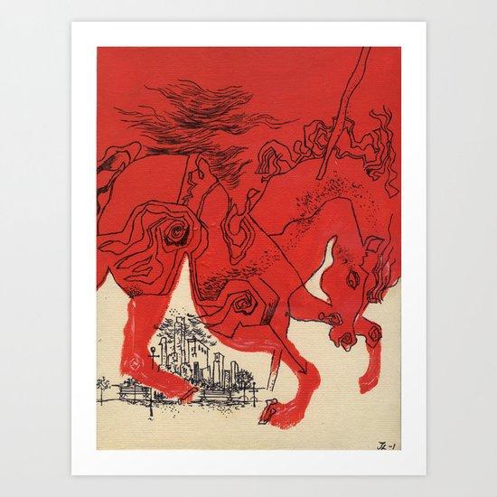Catcher Art Print