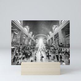 Grand Central Daylight (classic black & white edition) Mini Art Print