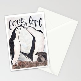 Bird no. 51: Love is love Stationery Cards