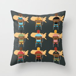 Embrace The Common Core Throw Pillow