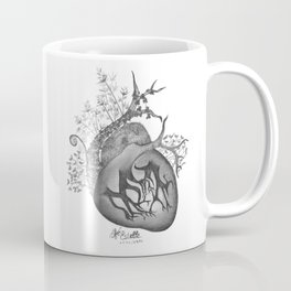 RADIOHEAD HEART Coffee Mug