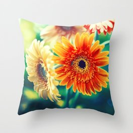 Sunny Love II Throw Pillow
