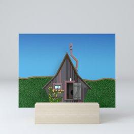 Old Small House Mini Art Print