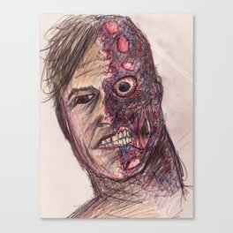 Harvey Two-Face Canvas Print