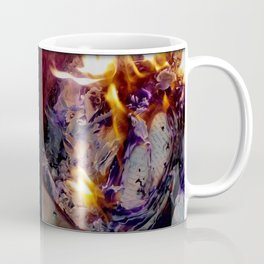 Beautiful Journal Burning Coffee Mug
