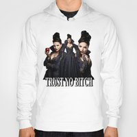 regina mills Hoodies featuring TRUST NO BITCH - Regina by j0seph