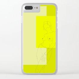 Pura Vida Clear iPhone Case