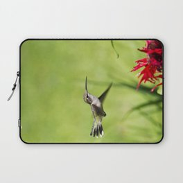 Hummingbird Hovering Laptop Sleeve