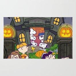 snoopy halloween Rug