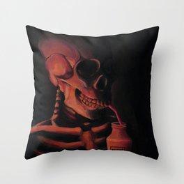 #SoylentGreenIsPeople Throw Pillow