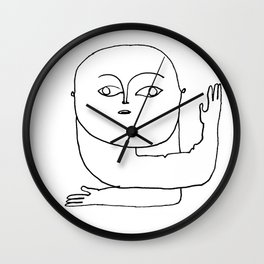 protection I Wall Clock