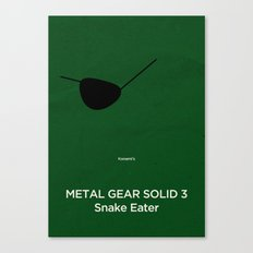 Konami's Metal Gear Solid 3 : Snake Eater Canvas Print