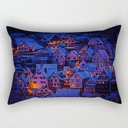 clasic architecture city Rectangular Pillow