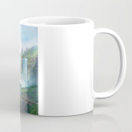 epic fantasy castle  Coffee Mug