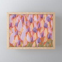 Tulip Flowers Framed Mini Art Print