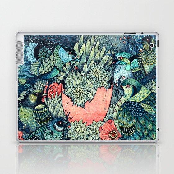 Cosmic Egg Laptop & iPad Skin