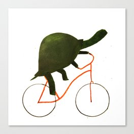 Reason ONE for using bike. Canvas Print