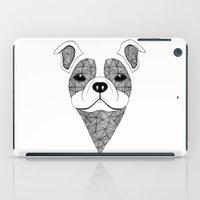 bulldog iPad Cases featuring Bulldog  by Art & Be