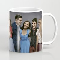 glee Mugs featuring Glee by weepingwillow